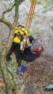 Rettungsübung Baumpflege